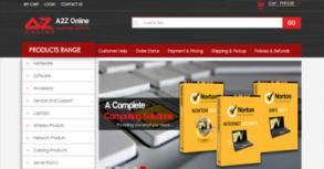 A2Z Online Website By Interactive Media International