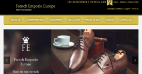 French Emporio Europe Website By Interactive Media International