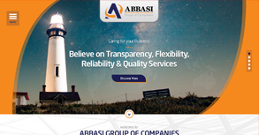 Abbasi Group Website By Interactive Media International