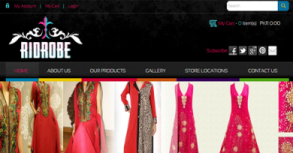 Rid Robe eShop Website By Interactive Media International