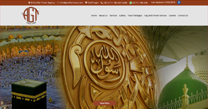 Al-Ghaffar Travel Agency Website By Interactive Media International
