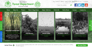 Sindh Forest Website By Interactive Media International