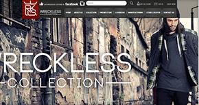 Wreckless Website By Interactive Media International