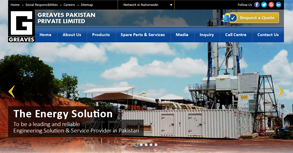 Greaves Pakistan Website By Interactive Media International