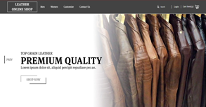 Leather Online Shop - jacketmate Website By Interactive Media International