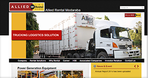 Allied Rental Modaraba Website By Interactive Media International