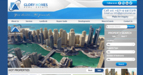 Glory Homes Website By Interactive Media International