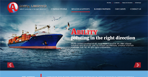 Ability Logistics Website By Interactive Media International