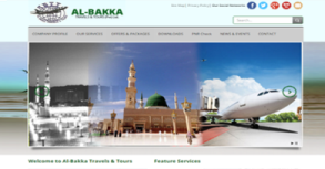 Al-Bakka Travels Website By Interactive Media International