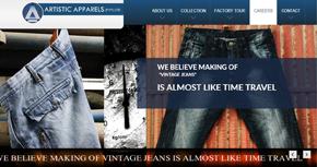 Artistic Apparels (Pvt.) Ltd. Website By Interactive Media International