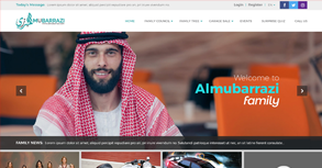 Al Mubarrazi Website By Interactive Media International