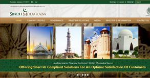 Sindh Modaraba Management Ltd. Website By Interactive Media International