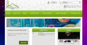 Mosque Trollahttan Website By Interactive Media International