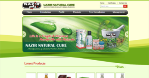 Nazir Natural Cure Website By Interactive Media International