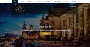 The Place Holiday Website By Interactive Media International