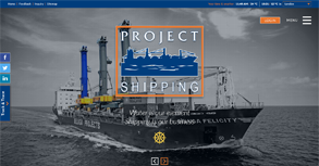 Project Shipping Website By Interactive Media International