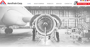 Aero Train Website Website By Interactive Media International