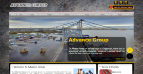Advance Metal Website By Interactive Media International