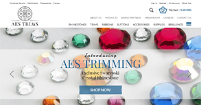 AES Trimming Website By Interactive Media International