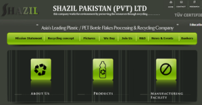 Shazil Pakistan Website By Interactive Media International