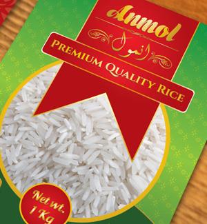 Rice Packaging Brochure