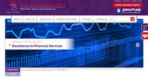 B&B Securities Pvt. Ltd. Website By Interactive Media International