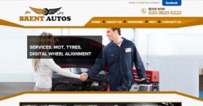 Brent Autos UK Website By Interactive Media International