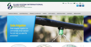 Fluid System International Website By Interactive Media International