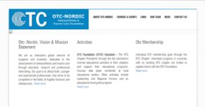 OTC Website By Interactive Media International