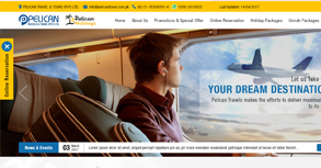 Pelican Travels & Tours (PVT) LTD Website By Interactive Media International