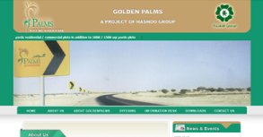 Golden Palms Contruction Website By Interactive Media International