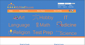 My Mind Pro eLearning Portal Website By Interactive Media International