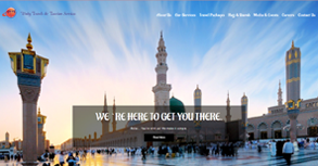 Unity Travels Website By Interactive Media International