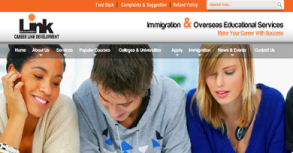 Career Link Development Website By Interactive Media International