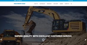 Machinery Zone Website By Interactive Media International