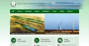Three Gorges Wind Farm Website By Interactive Media International