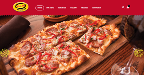 Milano Pizza & Fastfood Website By Interactive Media International