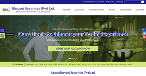 Bhayani Securities Website By Interactive Media International