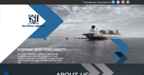 Seashore Logistics Website By Interactive Media International