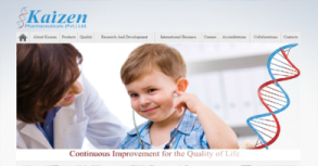 Kaizen Pharmaceuticals Pvt. Ltd. Website By Interactive Media International