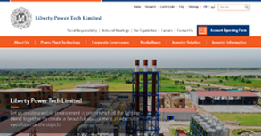 Liberty Power Tech Website By Interactive Media International