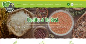 Leela Foods Website By Interactive Media International