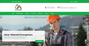 Ibrar Enterprices Website By Interactive Media International