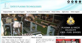 Data Plasma - Engineering Website By Interactive Media International