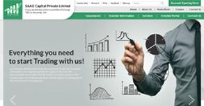 SAAO Capital Pvt. Ltd. Website By Interactive Media International