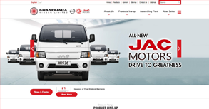 Ghandhara Nissan Limited Website By Interactive Media International