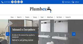 Plumbex Website By Interactive Media International