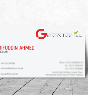 Gullivers Travels VisitingCard Designed By Interactive Media