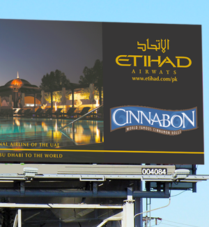 Etihad Billboarrd Designed By Interactive Media