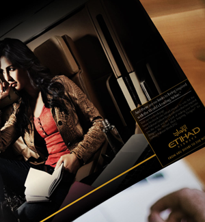 ETIHAD Magazine Ad 02 Designed By Interactive Media